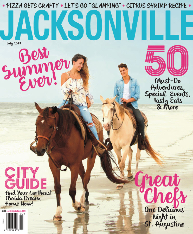 Juliet Johnson author of Home Profile, Jacksonville Magazine