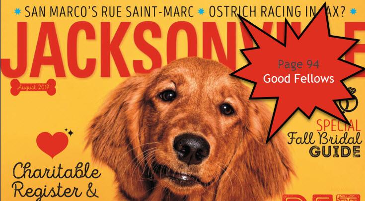 Juliet Johnson author of Home Profile, Jacksonville Magazine